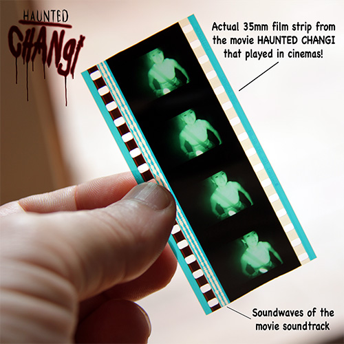 Haunted Changi                         35mm splice - Collector's Item
