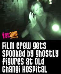 Stomp post                                           about Haunted Changi crew's                                           experience