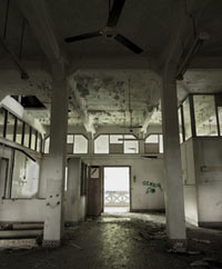 Inside Old Changi Hospital